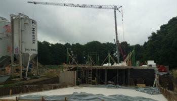 foto: Volop bouwwerkzaamheden